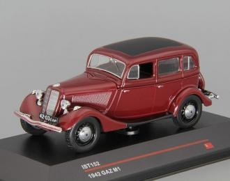 Горький М1 (1942), бордовый