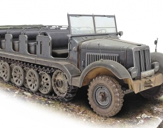 Полугусеничный тягач Zugkraftwagen 5t Sd.Kfz. 6 Pionier