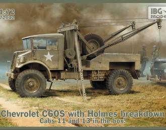 Сборная модель Chevrolet C60S with Holmes breakdown