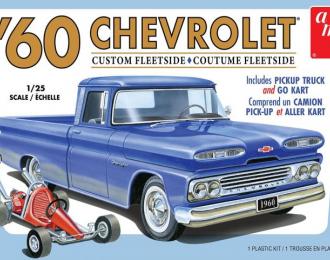 Сборная модель 1960 Chevrolet Custom Fleetside Pick Up (+ Kart)