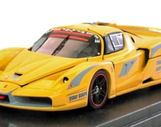 FERRARI FXX Evoluzione (всё открывается), yellow