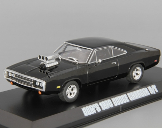 "DODGE Charger R/T Blown Engine Dom`s из к/ф ""Форсаж"" (1970), black"