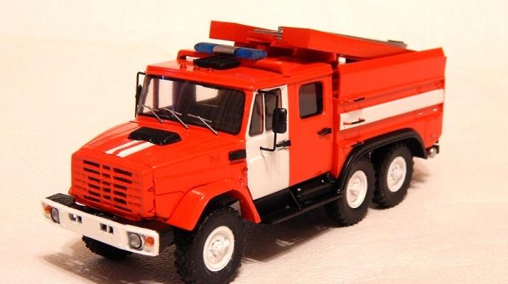 Набор для конверсии Пожарная цистерна АЦ-2,5-40 на базе ЗиЛ-4334