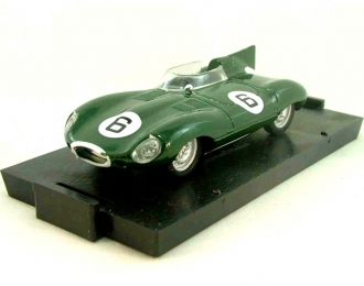 JAGUAR D-Type (1954-1960), green