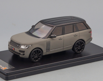RANGE ROVER Vogue (2014), matt grey / black