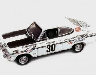 Opel Kadett B Coupe #30 J.Ragnotti  Rallye Monte Carlo 1970