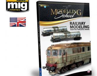 RAILWAY MODELING: Painting realistic trains (English)
