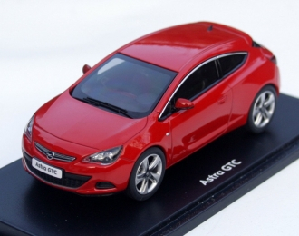 OPEL Astra J GTC, power red