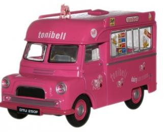 BEDFORD CA «Tonibell» фургон мороженое 1969, pink