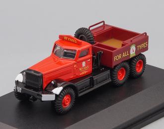 "DIAMOND T980 6х4  Ballast ""Wynns"" (балластный тягач) 1948 Red"