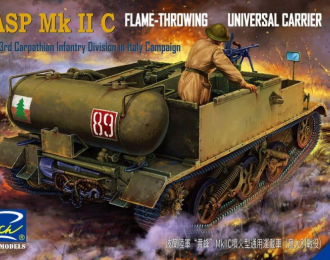 Сборная модель Wasp Mk.IIC Flame Throwing Universal Carrier