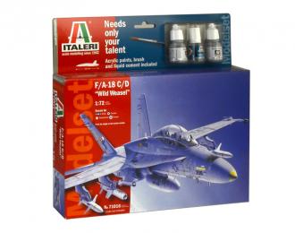 Сборная модель F/A-18 C/D WILD WEASEL (подарочный набор)