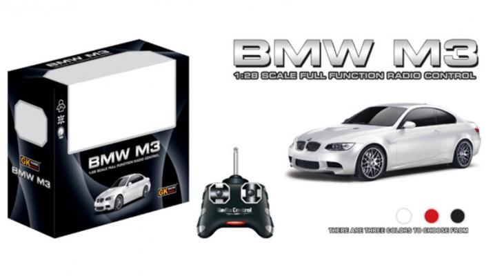 BMW M3 на радиоуправлении, white