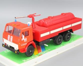 """Камский грузовик 53213 пожарный """"Казань"""", красный"""