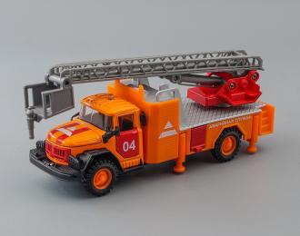 ЗИЛ 131 Аварийная служба, оранжевый + световые и звуковые эффекты