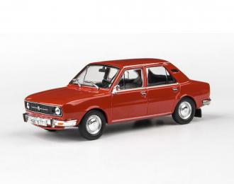 Škoda 105L - 1977 Červená Paprika 1:43 - Abrex
