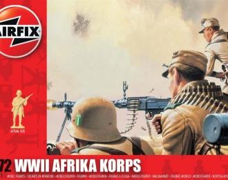 """Сборная модель Немецкая пехота """"Африканский корпус"""" (Вторая Мировая война)"""