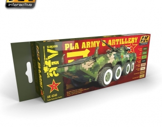 PLA ARMY AND ARTILLERY SET