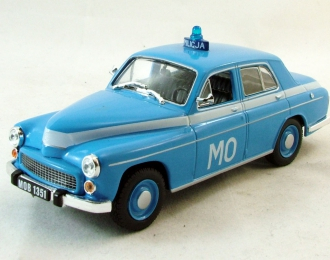 (Уценка!) WARSZAWA Milicija Obywatelska, Полицейские Машины Мира 24, синий
