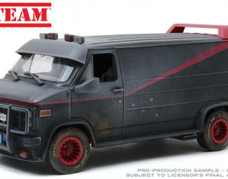 """GMC Vandura (фургон) 1983 с пулевыми повреждениями (из телесериала """"Команда А"""")"""