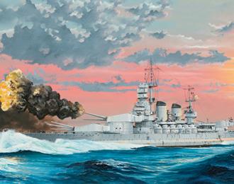 Сборная модель Корабль Italian Navy Battleship RN Littorio 1941