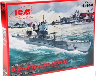 Сборная модель Тип IIB (1943 г.) Германская подводная лодка
