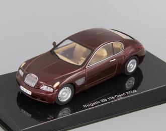 BUGATTI EB 118 Geneva (2000), dark red metallic