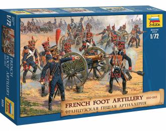 Сборная модель Французская пешая артиллерия