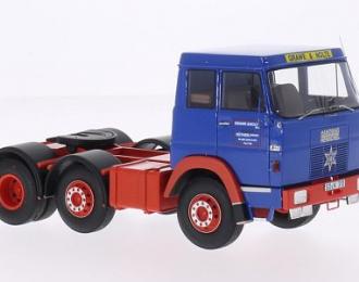 """седельный тягач Hanomag-Henschel F201""""Grawe & Nolte"""" 1967 Blue/Red"""