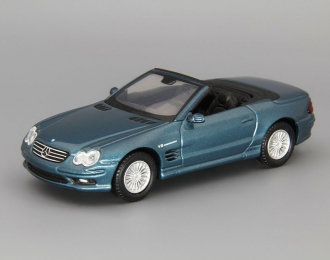 MERCEDES-BENZ SL55, topaz blue