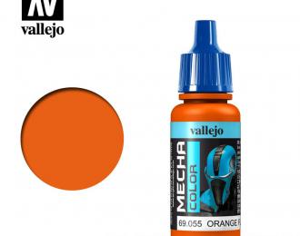 """Краска акриловая """"Mecha Color"""" Оранжевый флуоресцентный"""