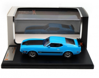 FORD Mustang Mach 1 (1973), light blue / black