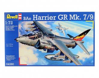 Сборная модель Самолет штурмовик BAe Harrier GR Mk. 7 ВВС Великобритании