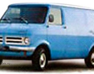 OPEL BEDFORD BLITZ (фургон) 1975, голубой
