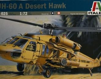 Сборная модель Американский вертолет Helicopter UH-60A Desert Hawk