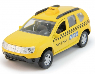 RENAULT Duster Такси, yellow