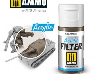 """Акриловый фильтр """"Грязь"""" / ACRYLIC FILTER Dirt"""
