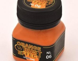 """Смесь """"эффект оранжевая ржавчина"""""""