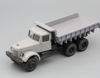 ЯАЗ-210Е самосвал, серый