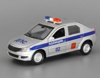 RENAULT Logan Полиция, silver