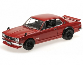 Nissan Skyline GT-R (KPGC10) (red)