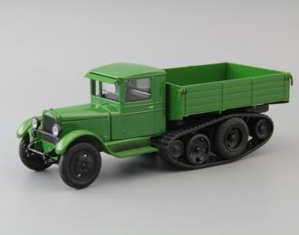 ЗИС-35М бортовой, зеленый