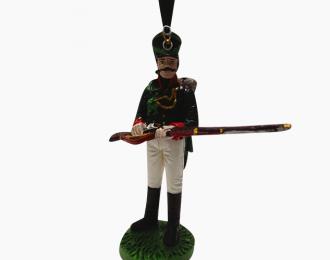 Фигурка Рядовой Восточно-Прусского егерского батальона, 1808-1813
