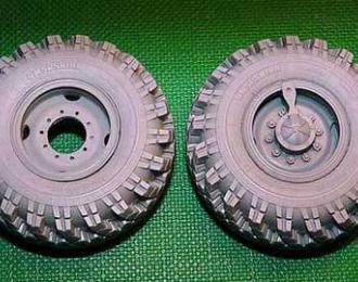 Набор колес ИД-П284 Уральский грузовикьский грузовик-4320 (6шт плюс запаска)