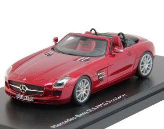 (Уценка!) MERCEDES-BENZ SLS AMG Roadster R197 (2011), red metallic