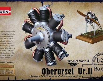 Сборная модель Немецкий авиадвигатель Oberursel Ur.II