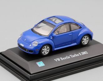 VOLKSWAGEN Beetlle Turbo S 2002, blue
