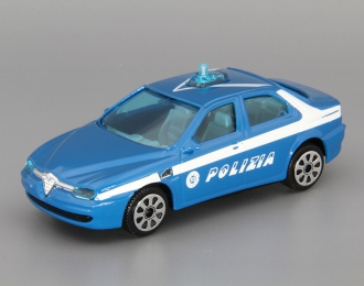 ALFA ROMEO 156 Polizia, blue / white