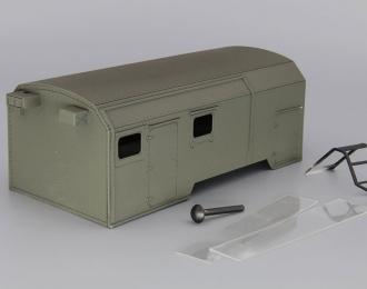 Надстройка Флюорографический кабинет на базе Камский грузовик, хаки