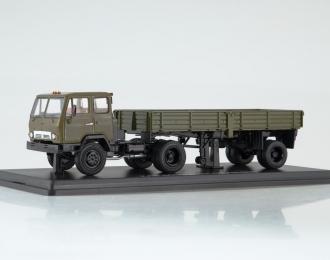 КАЗ-608В с полуприцепом ОДАЗ-885, хаки